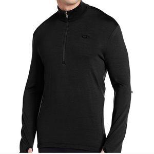 Icebreaker Wool Quarter Zip Pullover Bodyfit 260